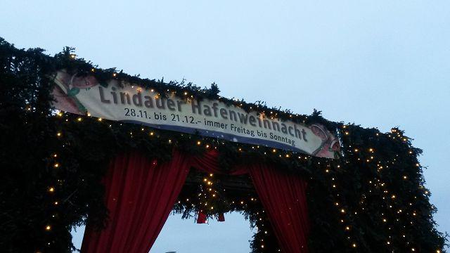 Lindau Weihnachtsmarkt.Weihnachtsmarkt Lindau Kameradschaftspflege